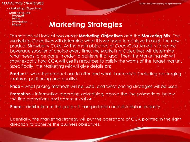 😍 Objectives of pepsi cola company  Marketing Objectives And