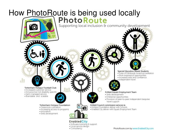How PhotoRoute is being used locally