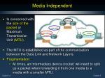 media independent1