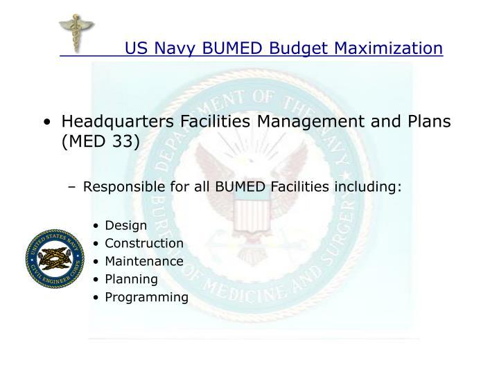 Us navy bumed budget maximization1