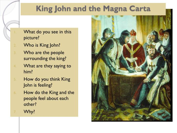 king john and the magna carta essay Free essay: the magna carta : the document was signed by king john of (magna 1) the magna carta has had the most significant influence on modern day common.