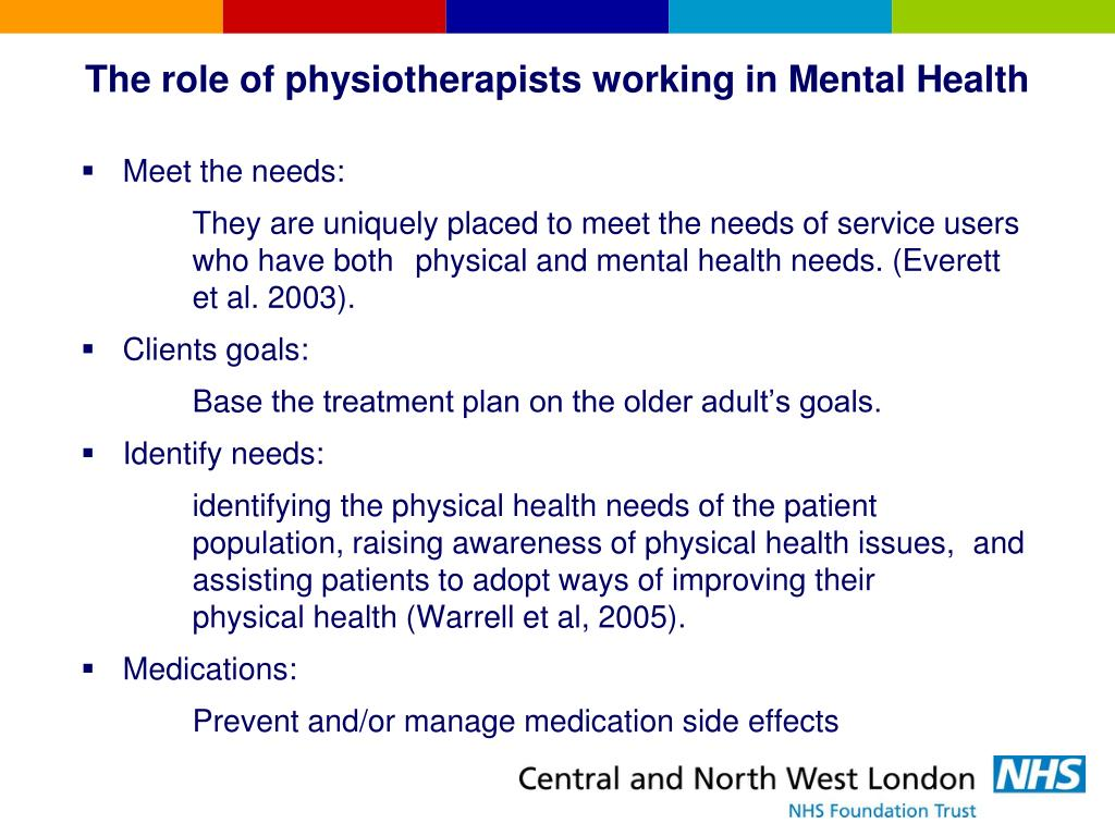 PPT - Intermediate Mental & Physical Health Care Team and ...