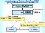 java naming and directory interface jndi