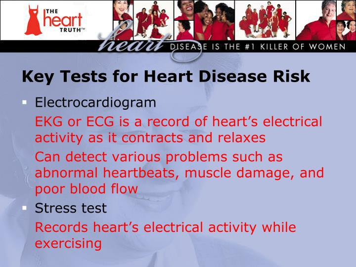Key Tests for Heart Disease Risk