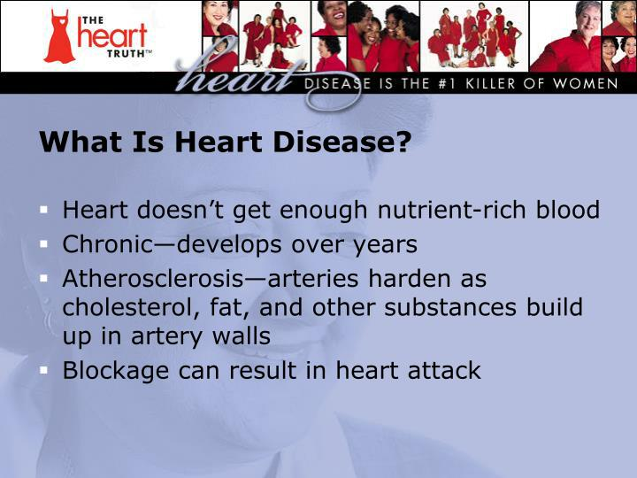 What Is Heart Disease?