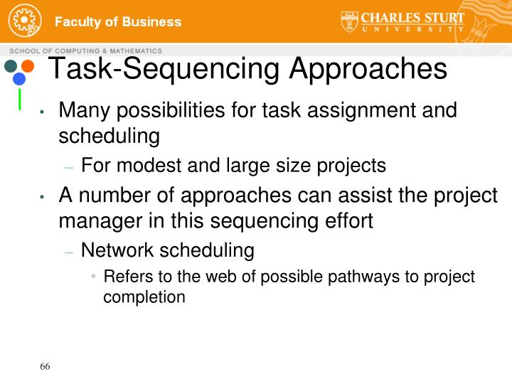 Task-Sequencing Approaches