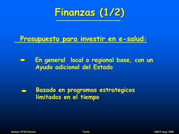 Finanzas (1/2)