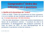 comprendre l ordre des infirmiers en 5 questions4