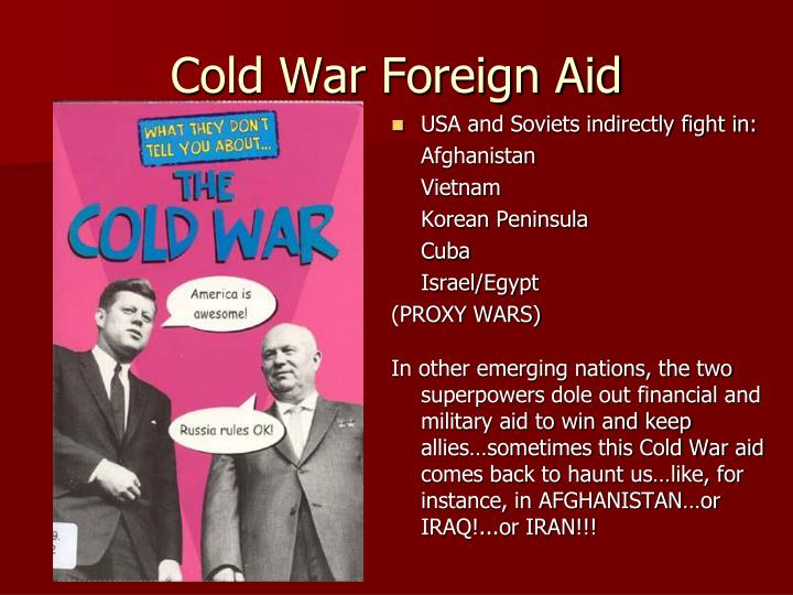 Cold War Foreign Aid