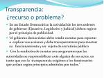 transparencia recurso o problema1
