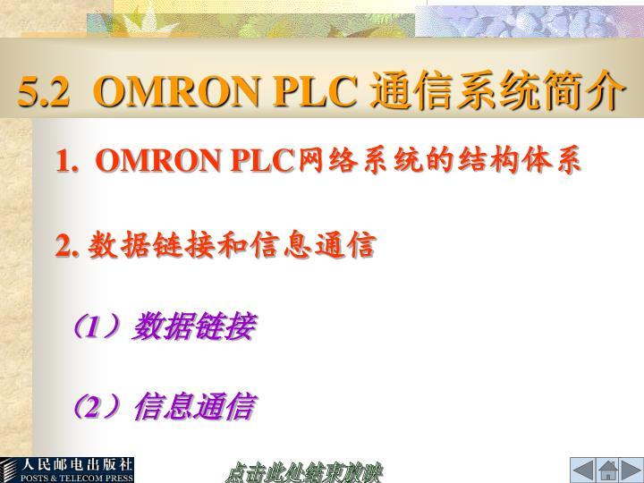5.2  OMRON PLC