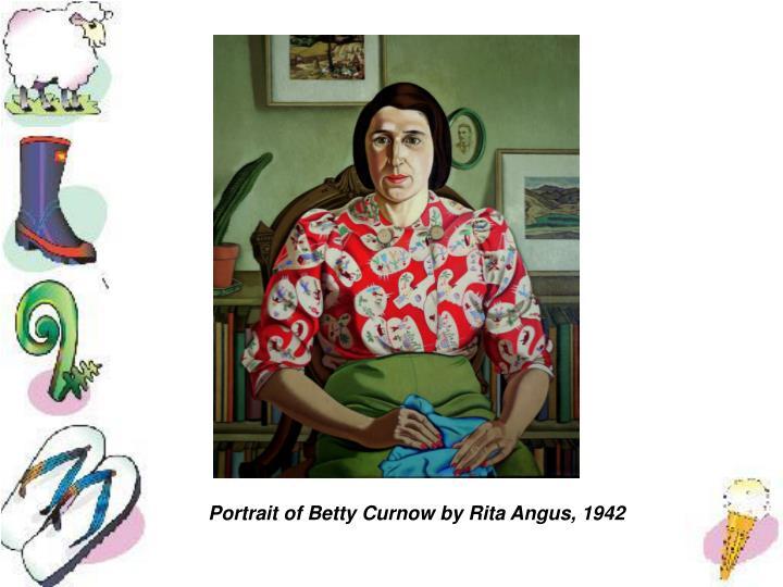 Portrait of Betty Curnow by Rita Angus, 1942
