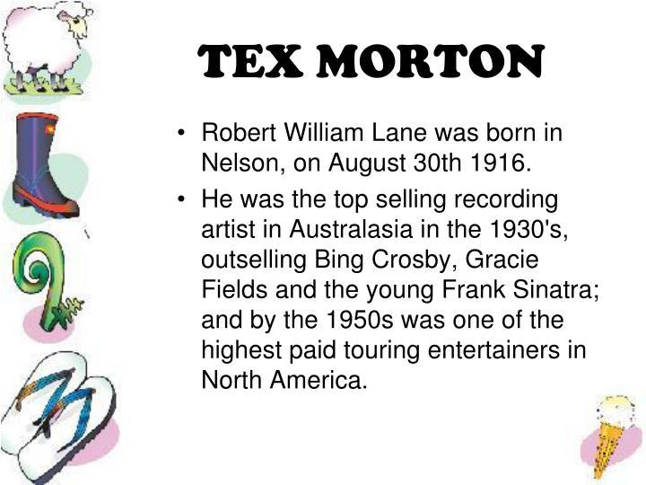 TEX MORTON