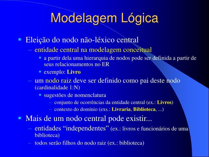 Modelagem Lógica