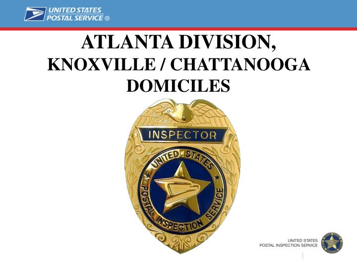 atlanta division knoxville chattanooga domicile s n.