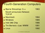 fourth generation computers1