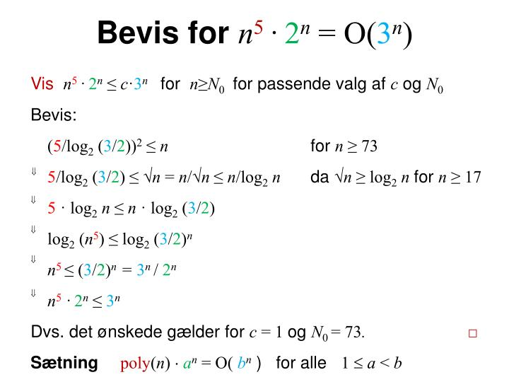 Bevis for