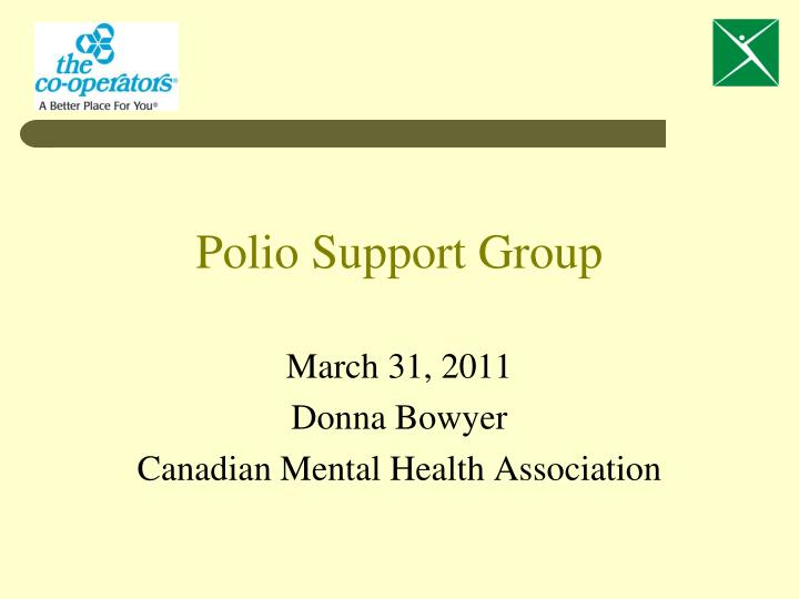 polio support group n.