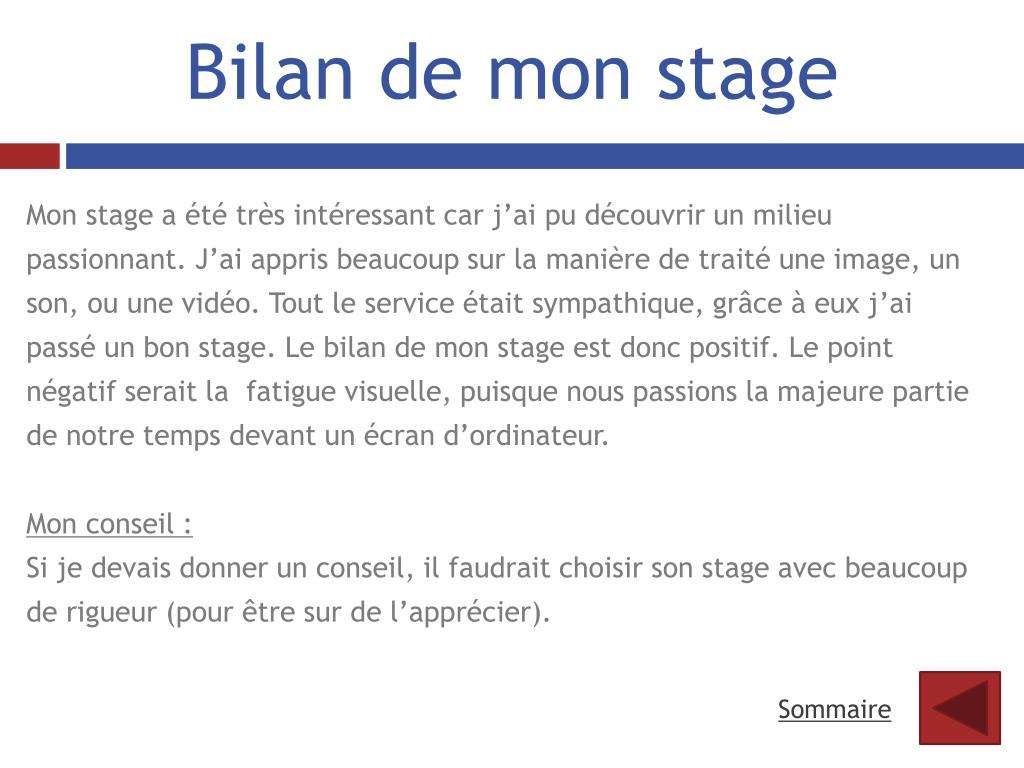 Ppt Rapport De Stage Powerpoint Presentation Free