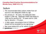 canadian best practice recommendations for stroke care 2008 2 1 ii