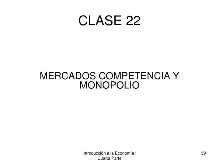 CLASE 22