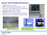 sensor head outboard sensor