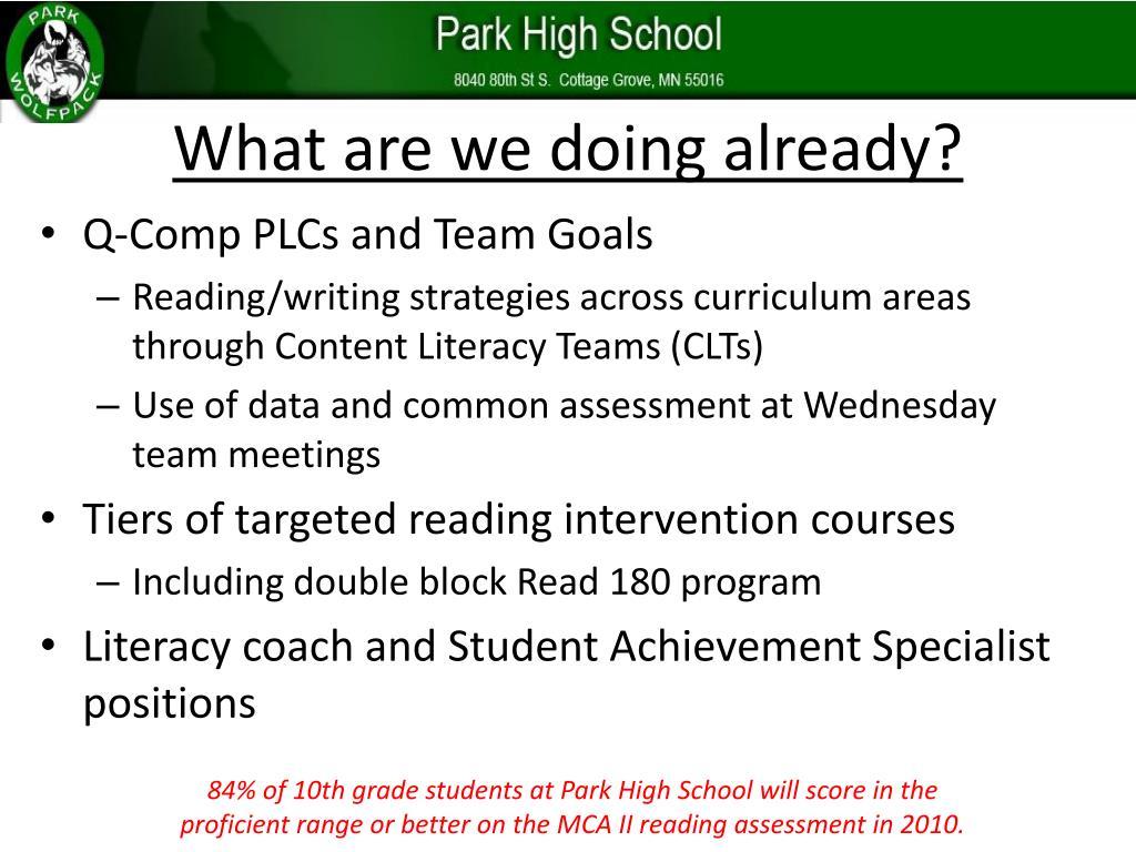 PPT - Park Senior High School PowerPoint Presentation - ID