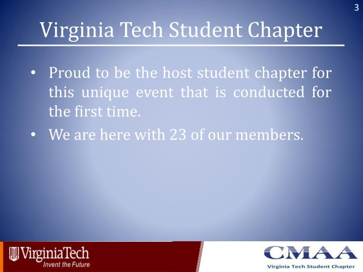 Virginia Tech Student Chapter