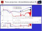noise projection de modulation phase ii