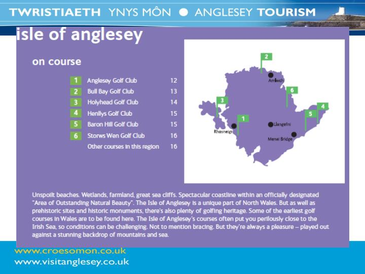 Ynys m n fel cyrchfan twristiaeth 2012 anglesey as a tourism destination 2012