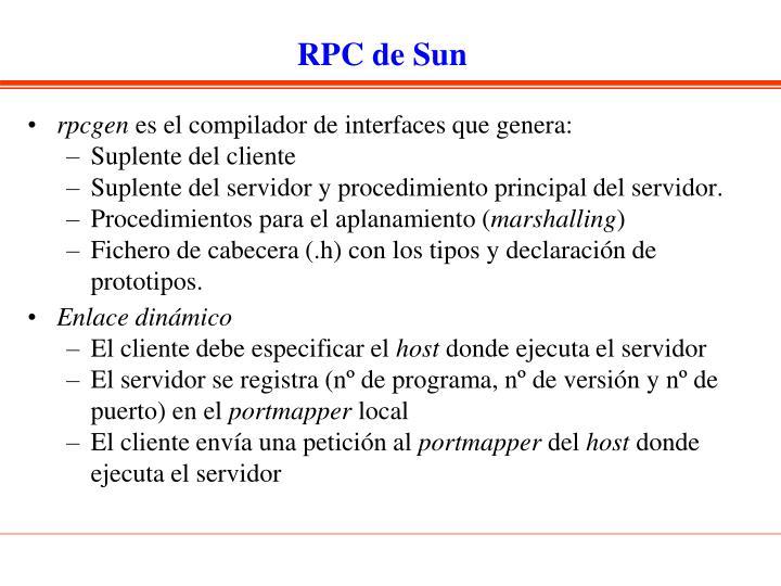 RPC de Sun