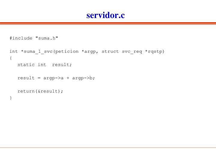 servidor.c