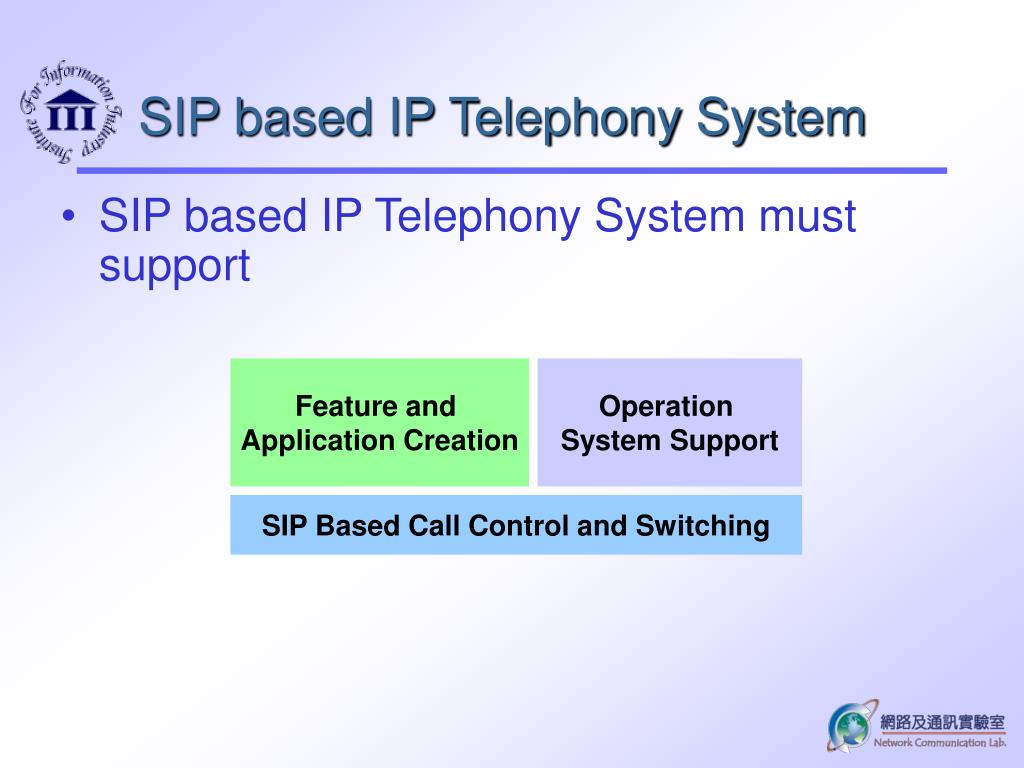 PPT - Introduction to SIP Based ENUM IP Telephony Infrastructure
