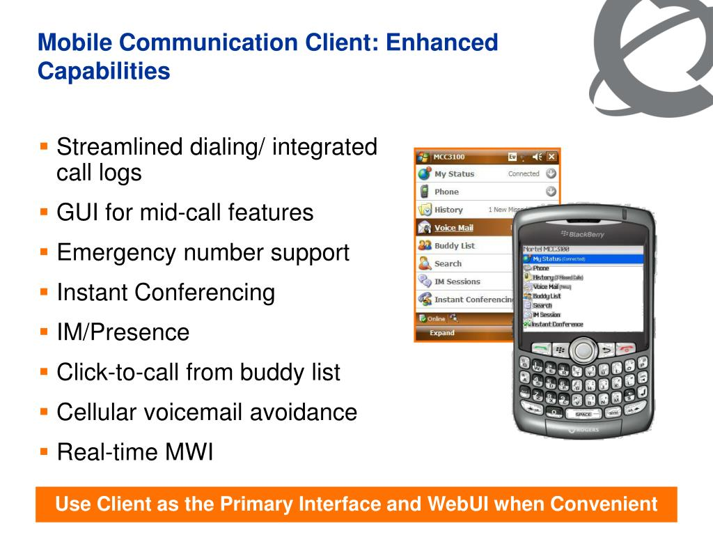 PPT - Mobile Unified Communications PowerPoint Presentation