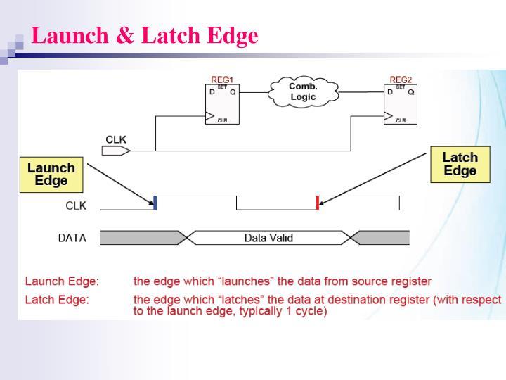 Launch & Latch Edge