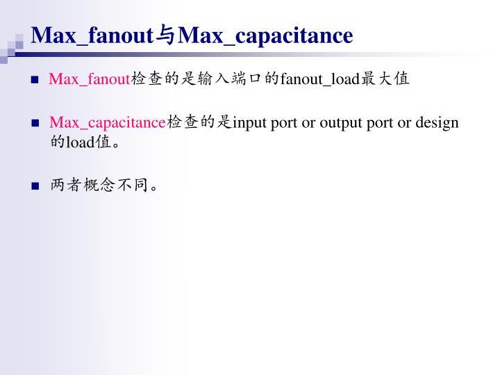 Max_fanout