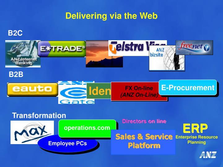 Delivering via the Web
