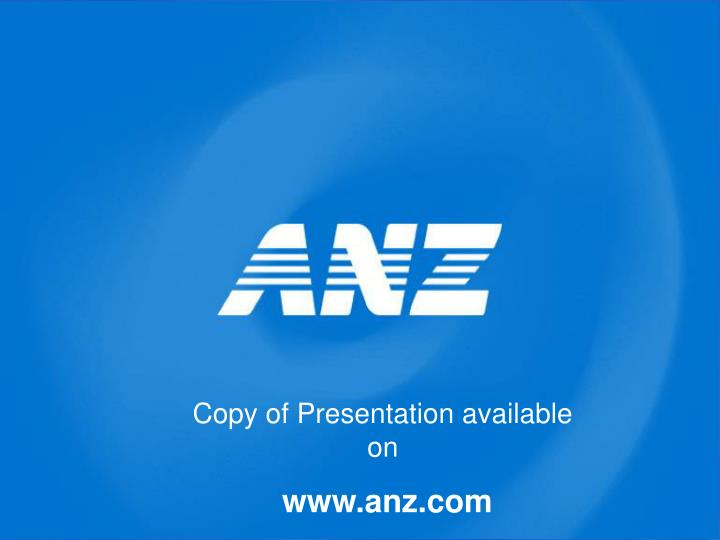 Copy of Presentation available on