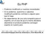 es php