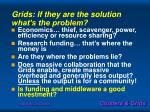 grids if they are the solution what s the problem
