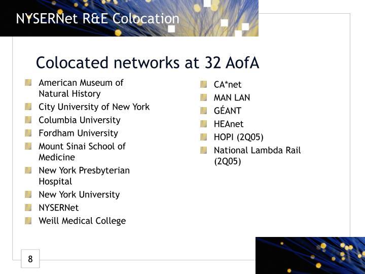 NYSERNet R&E Colocation