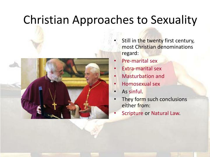 christian approaches to sexuality n.