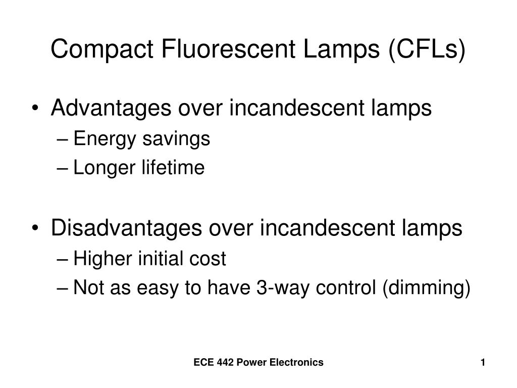 Ppt Compact Fluorescent Lamps Cfls Powerpoint Presentation Id New Led Control Circuit Using Irs2530d Diagram N