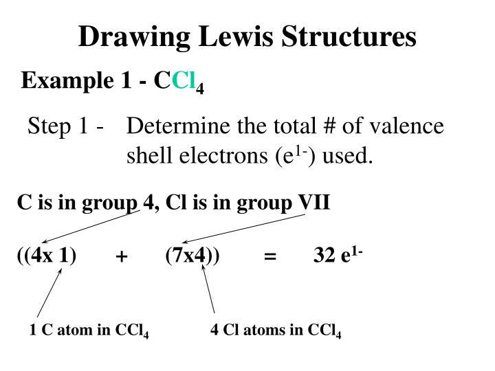 PPT - Drawing Lewis Structures PowerPoint Presentation - ID