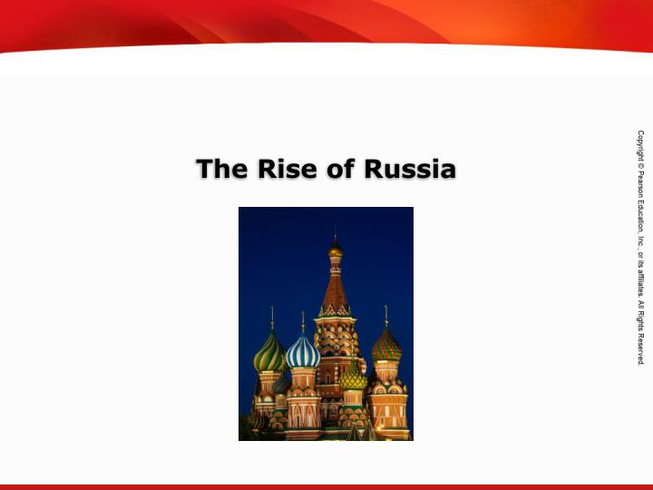 the rise of russia n.
