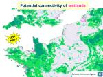 potential connectivity of wetlands1