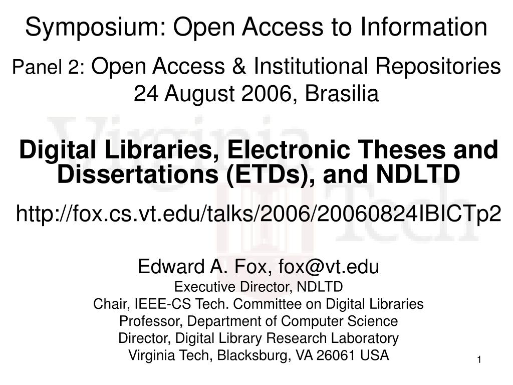 Vt electronic thesis and dissertation library by author