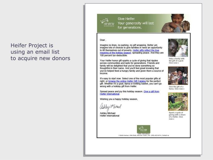 Heifer Project is