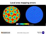 local area mapping errors