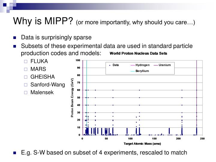 Why is mipp or more importantly why should you care